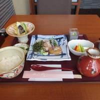 鯛茶漬けの定食