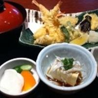 三津の朝市てんぷら定食