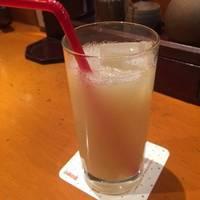 ランチドリンクのグレープフルーツジュース