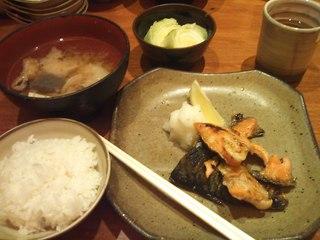 焼き魚ランチ