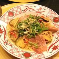 京夏野菜の具だくさん醤油バター