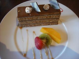 チョコガナッシュケーキ