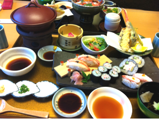 かに寿司御膳