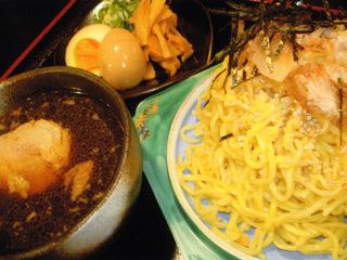 和風つけ麺(数量限定)/よなき家本店