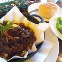 鉄鍋タンシチュー&ハンバーグステーキ