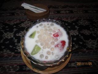 ココナッツデザート
