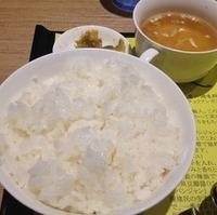ライスセット(スープ、ザーサイ付)