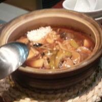 香ばしいもち米の海鮮おこげ