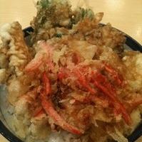 冬の国産野菜天丼