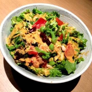 健康野菜のコブサラダ