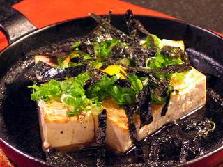 豆腐やまかけステーキ