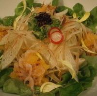 桜海老と黄味おろしの和風サラダ