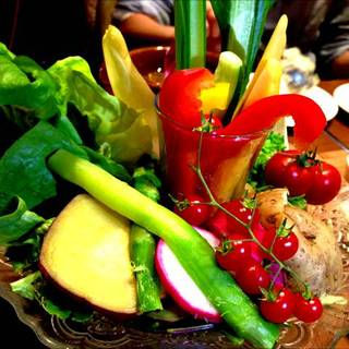 農園野菜のバーニャカウダ