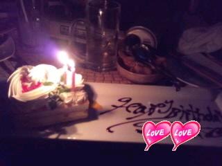 ケーキ&記念写真