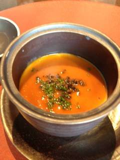 オマールエビの茶碗蒸し