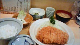 ロース定食