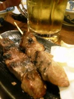 米沢牛串焼き