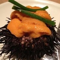生ウニと季節野菜のムース