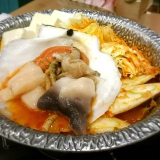 魚介チゲ鍋