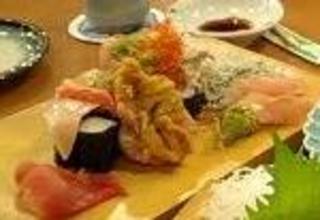ぶっかけ寿司こぼれ盛り/大庄水産 橋本店
