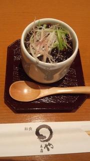 胡麻豆腐田楽