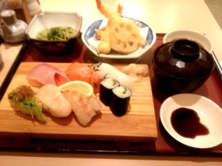 寿司御膳ランチ