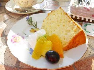 柚子シフォンケーキ