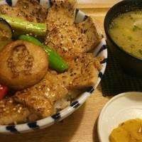 鹿児島県産 黒豚の炙り丼