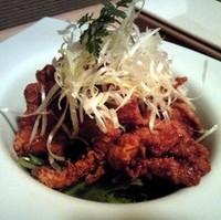 鶏の唐揚げ 油淋鶏ソース