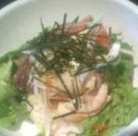 ゆず醤油の海鮮丼