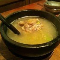 石焼きテールスープ