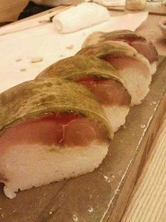 鯖棒寿司/銀座 魚ばか