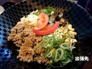 期間限定 汁なし担担麺