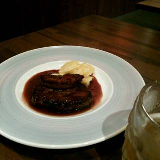 国産フィレ肉とフォアグラのロッシーニ