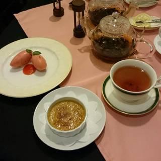 紅茶風味のクレーム・ブリュレ
