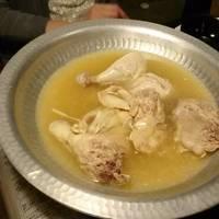 濃厚鶏ガラスープの水炊き
