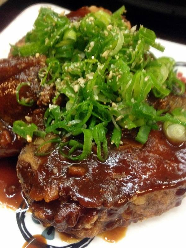 自家製肉味噌の生麩田楽