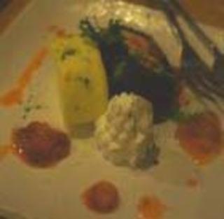2色のミニスターロールケーキ