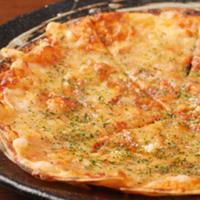 雲丹と酒盗のピザ