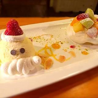 ディナーコース3000円(クリスマスデザート)