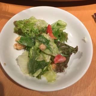 豆腐と鰹節の和風サラダ