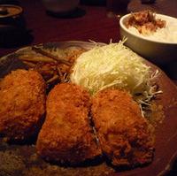 牛肉とマッシュルームのコロッケ定食