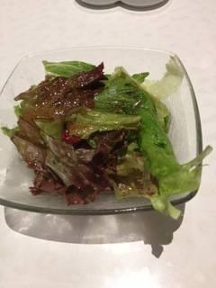 ランチのサラダ