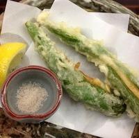 万願寺青唐海老真薯