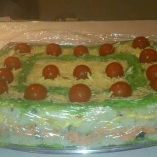 特製お寿司ケーキ