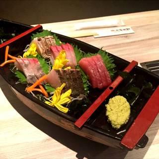 三重鮮魚の三種盛り