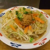 夏とく冷やし麺(肉味噌チキンスープ)