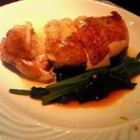 美桜鶏もも肉のバーニャカウダ
