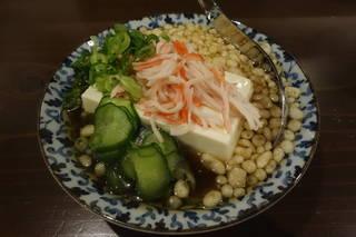 たぬき豆腐 390円