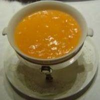 蟹の卵入りふかひれスープ